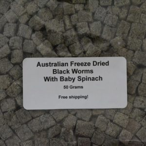 Blackworm Cubes